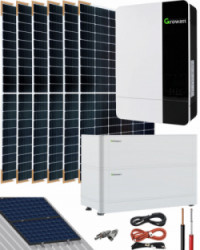 Kit Solar Litio Pylontech 7,2kWh 3000W 11000Whdia