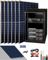Kit Solar Litio Pylontech 7,2kWh 3000W 14000Whdia