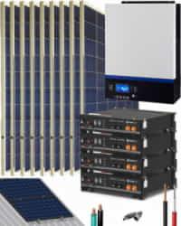 Kit Solar Litio Pylontech 9kWh 5000W 12150Whdia