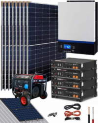 Kit Solar Litio Pylontech 9kWh 5000W 14000Whdia