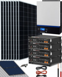 Kit Solar Litio Pylontech 9kWh 5000W 15000Whdia
