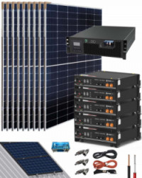 Kit Solar Litio Pylontech 9kWh 5000W 19800Whdia