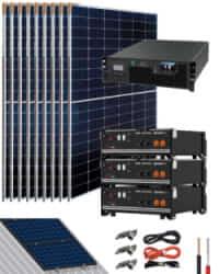 Kit Solar Litio Pylontech 9kWh 5000W 19800Whdia