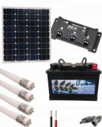 Kit Solar Mini 12V 1300Whdia