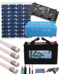 Kit Solar Mini 12V 375Whdia