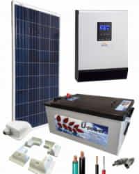 Kit Solar para Caravanas 1000W 12V 750Whdia