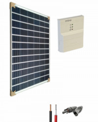 Kit Solar para Caravanas 12V 1000Whdia con regulador de 15A