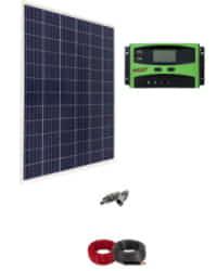 Kit Solar para Caravanas 12V 1000Whdia con regulador de 30A