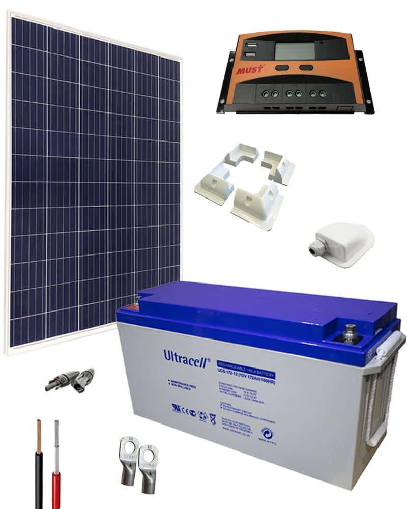 Kit Solar para Caravanas 12V 1000Whdia