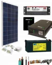 Kit Solar para Caravanas 1400W 12V 750Whdia