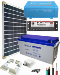 Kit Solar para Caravanas 375W 12V 1000Whdia