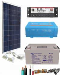 Kit Solar para Caravanas 375W 12V 375Whdia