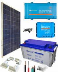 Kit Solar para Caravanas 500W 12V 1375Whdia