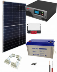 Kit Solar para Caravanas 600W 12V 1000Whdia