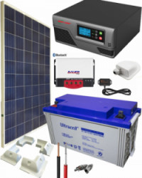Kit Solar para Caravanas 600W 12V 1375Whdia