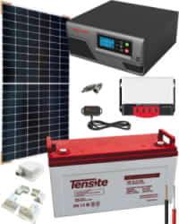 Kit Solar para Caravanas 600W 12V 1500Whdia