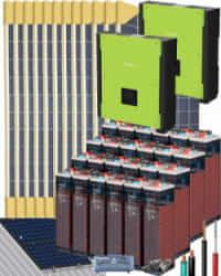 Kit Solar Trifásico 20000W 48V 144000Whdia