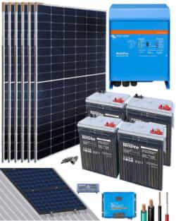 Kit Solar Victron 3000W 24V 10000Whdia