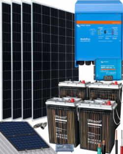 Kit Solar Victron 3000W 24V 8000Whdia