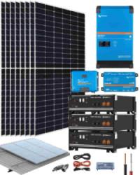 Kit Solar Victron 5000W 48V 16000Whdia