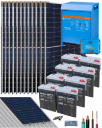 Kit Solar Victron 5000W 48V 20000Whdia