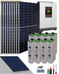 Kit Solar Vivienda Habitual 5000W 48V 16500Whdia