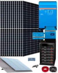 Kit Solar Vivienda Permanente 10000W 48V 32000Whdia