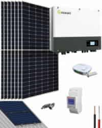 Kit Autoconsumo Solar 3000W 16000Whdia Growatt