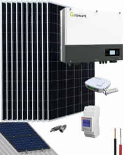 Kit Autoconsumo Solar 4000W 20000Whdia Growatt