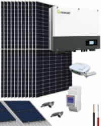 Kit Autoconsumo Solar 5000W 27000Whdia Growatt