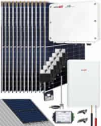 Kit Autoconsumo SolarEdge 5000W 26400Whdia