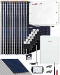 Kit Autoconsumo SolarEdge 6000W 31350Whdia
