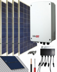 Kit Conexión Red SolarEdge 1000W 5400Whdia  Monofásico