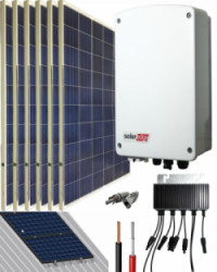 Kit Conexión Red SolarEdge 1500W 8100Whdia  Monofásico