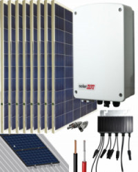 Kit Conexión Red SolarEdge 2000W 10800Whdia  Monofásico