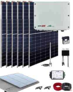 Kit Conexión Red SolarEdge 2200W 11550Whdia  Monofásico