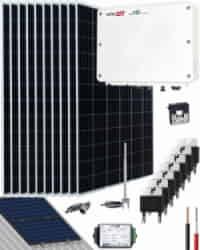 Kit Conexión Red SolarEdge 4000W 20250Whdia  Monofásico