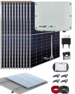 Kit Conexión Red SolarEdge 5000W 26400Whdia  Monofásico