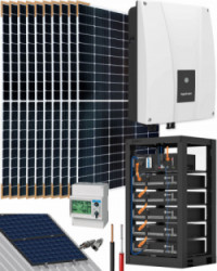 Kit Solar Autoconsumo 3000W 18150Whdia