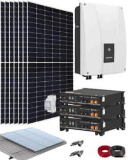 Kit Solar Autoconsumo 3000W 48V 18150Whdia