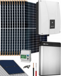 Kit Solar Autoconsumo 6000W 48V 36300Whdia