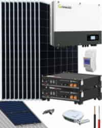 Kit Solar Híbrido 4000W 20000Whdia Growatt