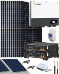 Kit Solar Híbrido 5000W 27000Whdia Growatt