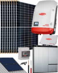 Kit Solar Híbrido Fronius 3000W 15000Whdia