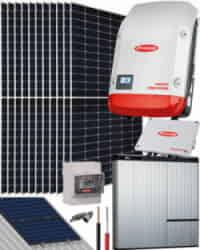 Kit Solar Híbrido Fronius 5000W 25200Whdia