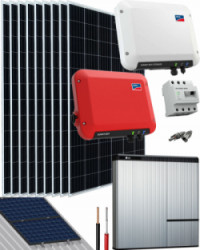 Kit Solar Litio 2500W 13200Whdia SMA - LG