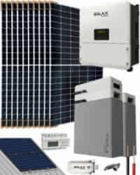 Kit Solar Litio 6000W SolaX Hybrid Trifásico 29700Whdia