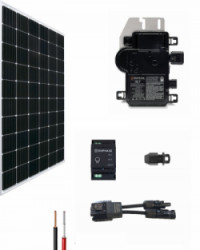 Kit Solar Red 1350Whdia  con Microinversor