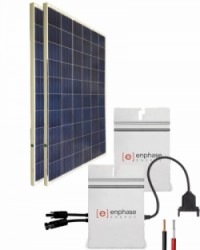 Kit Solar Red 2600Whdia  con Microinversor