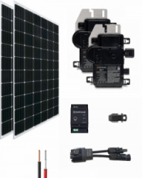 Kit Solar Red 2700Whdia con Microinversor